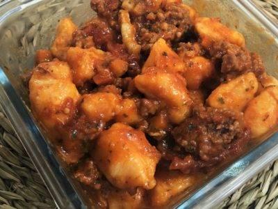 gnocchi patate douce