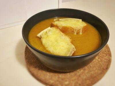 soupe au potiron - sopa de calabaza
