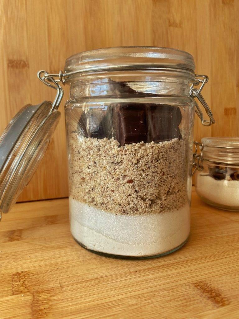 Mélange pour pavé au chocolat - Mezcla para tarta de chocolate